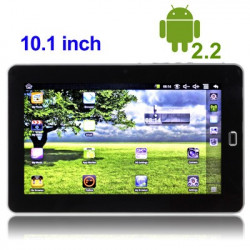 "10.1"" Touch Screen Android 2.2 Tablet med wifi"