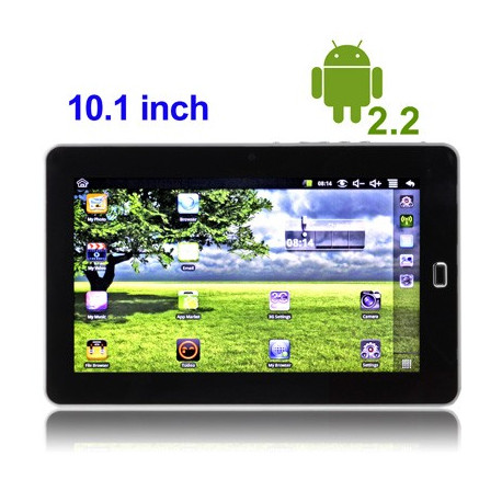 "Image of   10.1"" Touch Screen Android 2.2 Tablet med WIFI"