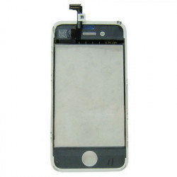 OEM-version, Hvid Farve, 2 i 1 (Replacement Touch Panel + LCD Frame) the iPhone 4