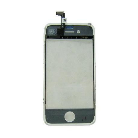Image of   2-i-1 Reservedel: Touch Panel + LCD Frame til iPhone 4, Hvid