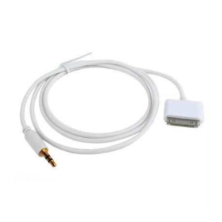 Image of   30-pin til 3,5 mm jack-kabel, til iPhone