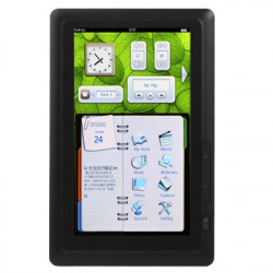 E708 Black, 7.0 tommer Touch Screen E-BOOK