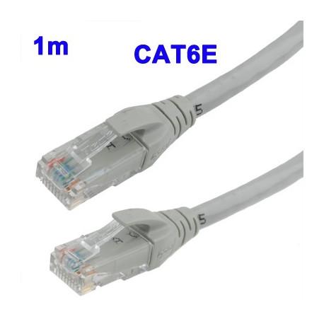 Cat6e lan netværkskabel, længde: 1 m fra N/A på olsens it aps