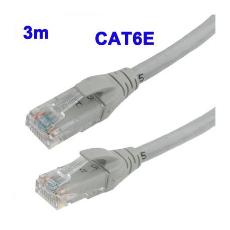 Image of   CAT6E LAN netværkskabel, Længde: 3 m