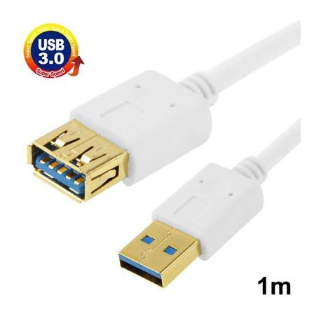 Image of   Kabel USB 3.0 hun til USB 3.0 han, 1 m