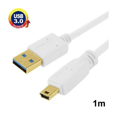 Image of   Kabel USB 3.0 til Mini USB 3.0, 1 m