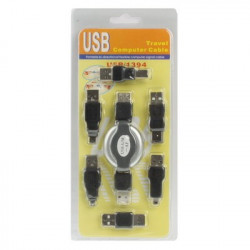 USB to Firewire IEEE 1394 5 4 Pin KABEL 6 Travel Kit