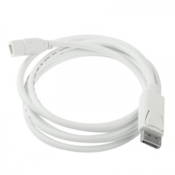 Display Port Mand to Mini Display Port Female Cable, Length: 1,8 m