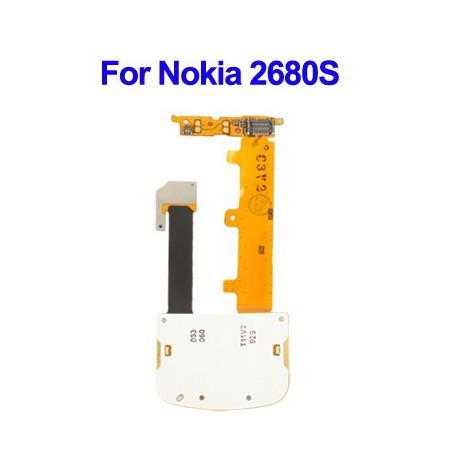Image of   Flex-kabel til udskiftningstastatur til Nokia 2680S