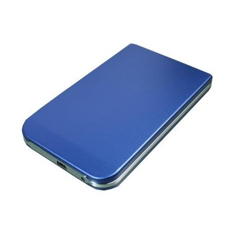 2,5 tommer HDD SATA External Case (Blå)