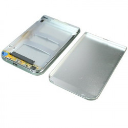 2,5 tommer HDD SATA External Case (Silver)