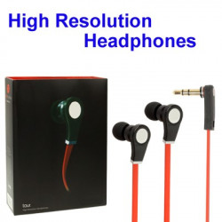 Hardcover Udgave Sound Legend Noodle Style High Performance In-Ear øretelefon to iPhone / iPad / iPod, Portable Media Player,