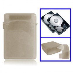 2,5 tommer HDD Store Tank, Support 2x 2,5 inches IDE / SATA HDD (Grå)