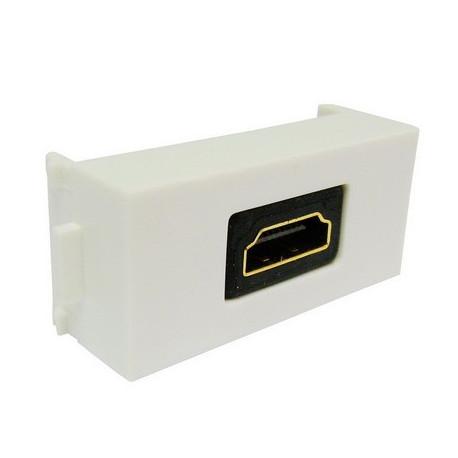 Image of   indbygnings HDMI 19-pin hun til HDMI 19Pin Bend interface