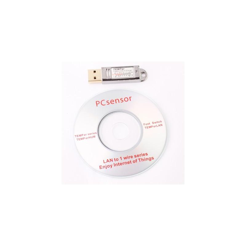 USB Termometer   Indbygget Digital PC Sensor cc167d6c612b9