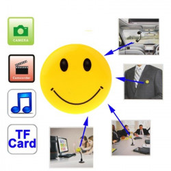 Spion Smiley face med video kamera og mp3 function