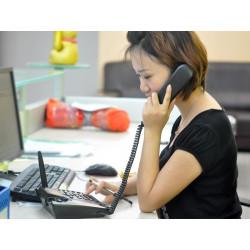 GSM Bordtelefon - Quadband, SMS-funktion