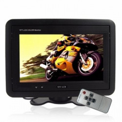Headrest/Stand In-Car TFT LCD Monitor
