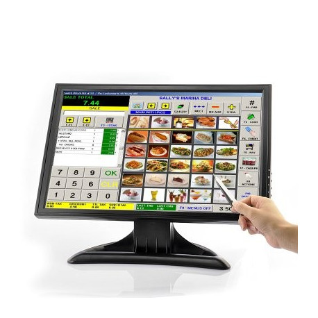 19 tommer lcd touch screen monitor fra N/A fra olsens it aps