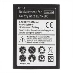 3500mAh Batteri til Samsung Galaxy Note II / N7100