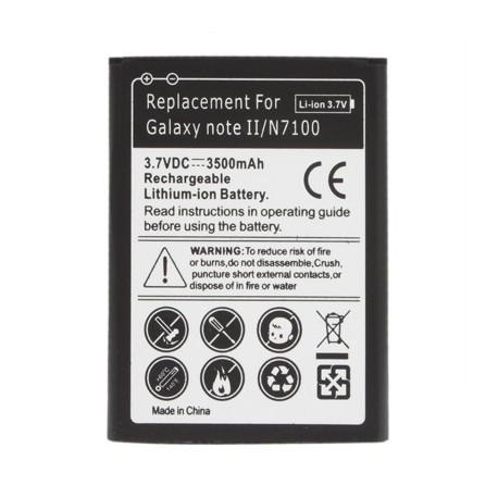 Image of   3500mAh Batteri til Samsung Galaxy Note II / N7100