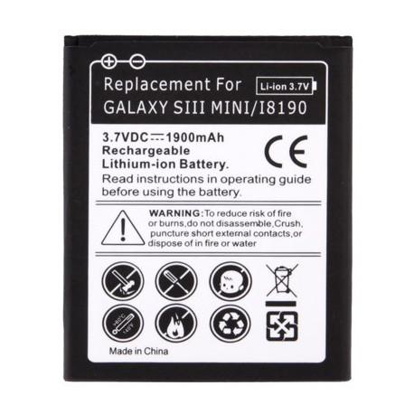 Image of   1900mAh Batteri til Samsung Galaxy SIII mini / i8190