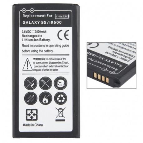 Image of   3800mAh Batteri til Samsung Galaxy S5 / G900