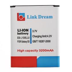 Link Dream 3200mAh Batteri til Samsung Galaxy SIII / i9300 (EB-L1G6LLU)