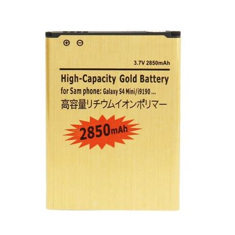 Image of   2850mAh Gold Batteri til Samsung Galaxy S IV mini / i9190