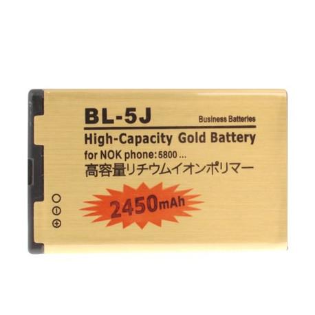 Image of   2450mAh BL-5J Batteri til Nokia 200 / 201 / 2010 / 302 / Lumia 520