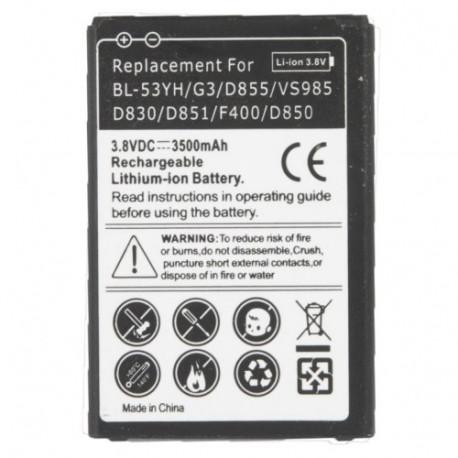 Image of   3500mAh Mobilbatteri til LG G3