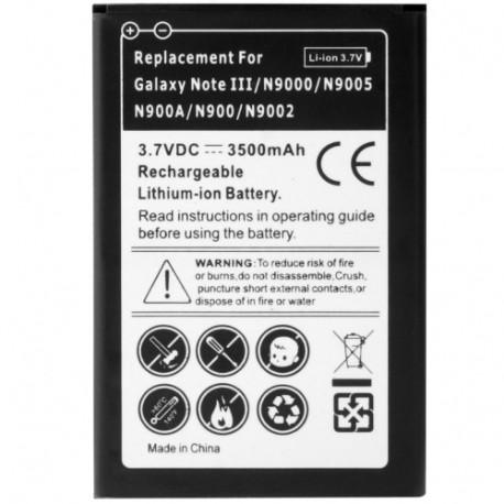 Image of   3500mAh Batteri til Samsung Galaxy Note III