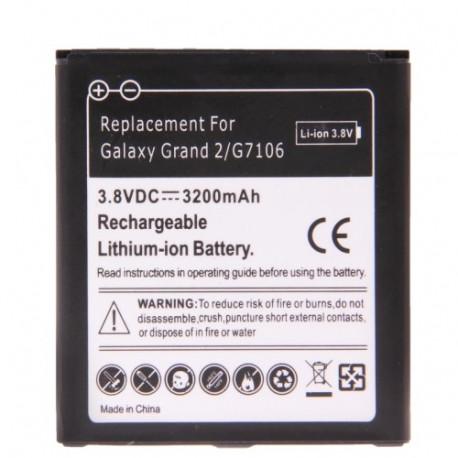 Image of   3200mAh Batteri til Samsung Galaxy Grand 2 / G7106