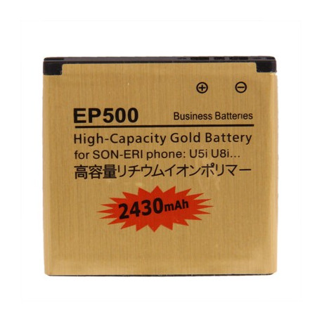 Image of   2430mAh EP500 Batteri til Sony Ericsson Xperia U5i / U8i