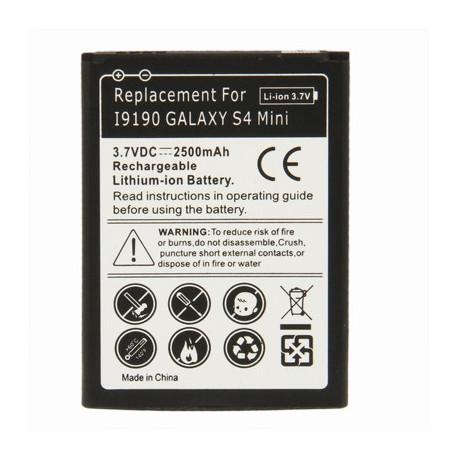 Image of   2500mAh Batteri til Samsung Galaxy S IV mini / i9190