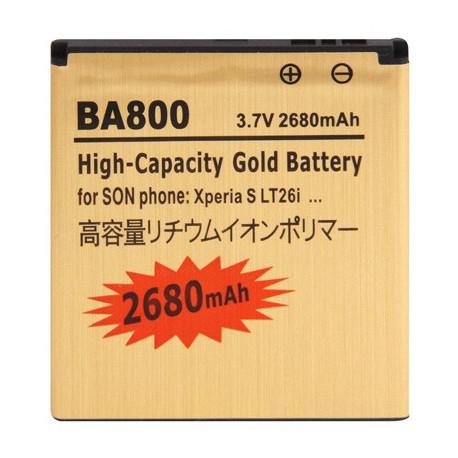 Image of   BA800 2680mAh Batteri til Sony Xperia S