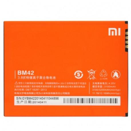 Image of   3100mAh Batteri til Redmi Note