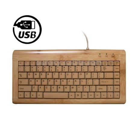 Image of   Cool bambus tastatur (lille model)