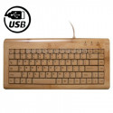 Cool bambus tastatur (lille model)