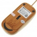 USB Bambus mus 800dpi optisk