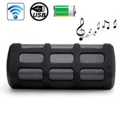 DITTER S33 Vandtæt Støvtæt Stødsikker 7000mAh Trådløs Bluetooth Speaker, Indbygget Mikrofon, Understøtter Opkald (Sort)