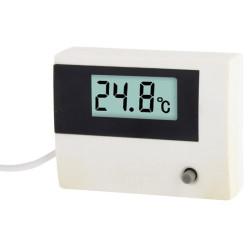 Mini LCD Termometer, TM-1 (Hvid)