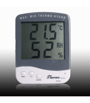 Indendørs Termometer med Hygrometer (TA218D)