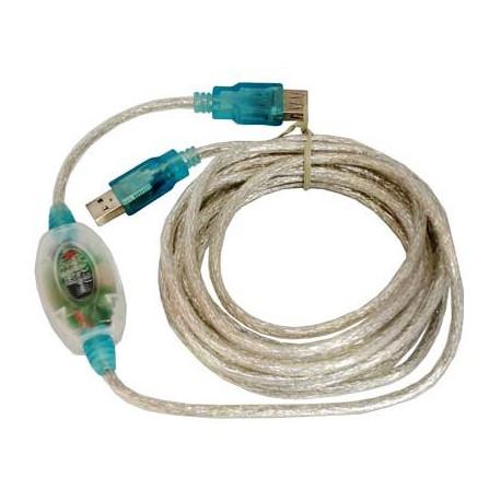 USB 2.0 lang forlængerkabel 5m