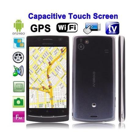 Android 2.2 telefon m. TV, Dual Simkort m.v.