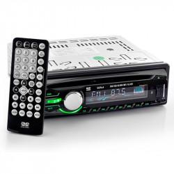 Bil DVD-afspiller - Aftageligt Panel AV-udgang, DVD, USB, SD-kort afspilning (1 DIN)