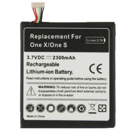 Image of   2300mAh Intern Batteri til HTC One X / S720e, One S / Z520e