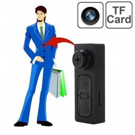 Image of   480P Mini-knap DV-kamera med vibrationsfunktion, understøtter TF-kort