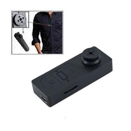 Image of   DVR Pinhole Kamera Spy videokamera med 640x480 pixels knaptype kamera