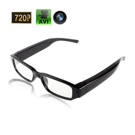 Image of   720p HD nærsynethed Digitalkamera Briller / Solbriller, Indbygget 8GB hukommelse, Format: AVI